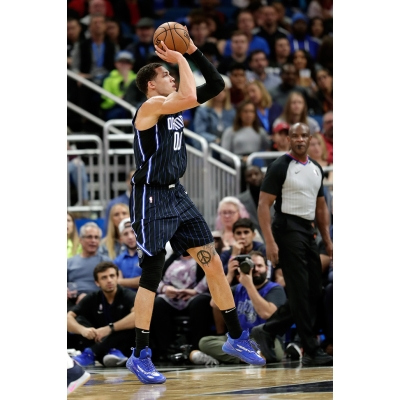 Aaron Gordon first time seen in 361 brand shoes