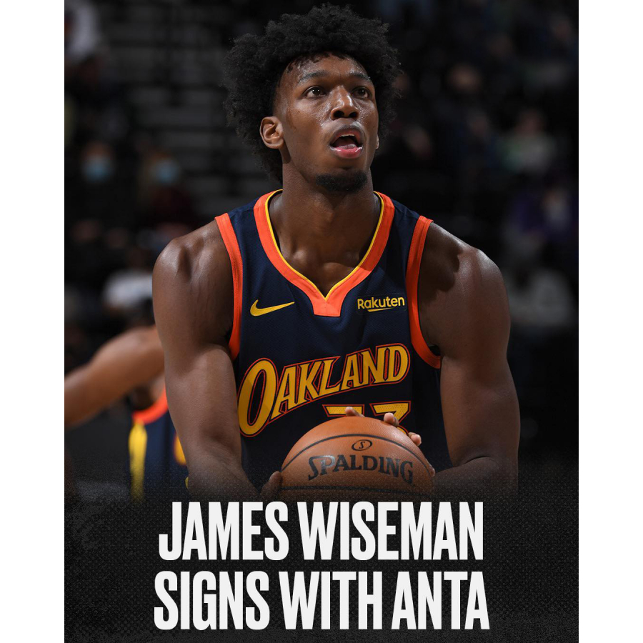 James Wiseman signs with ANTA